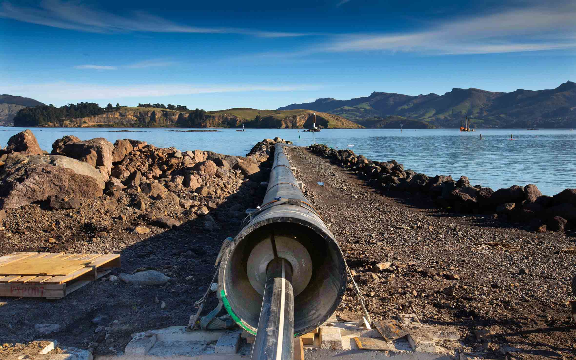 'Lyttelton Harbour wastewater project