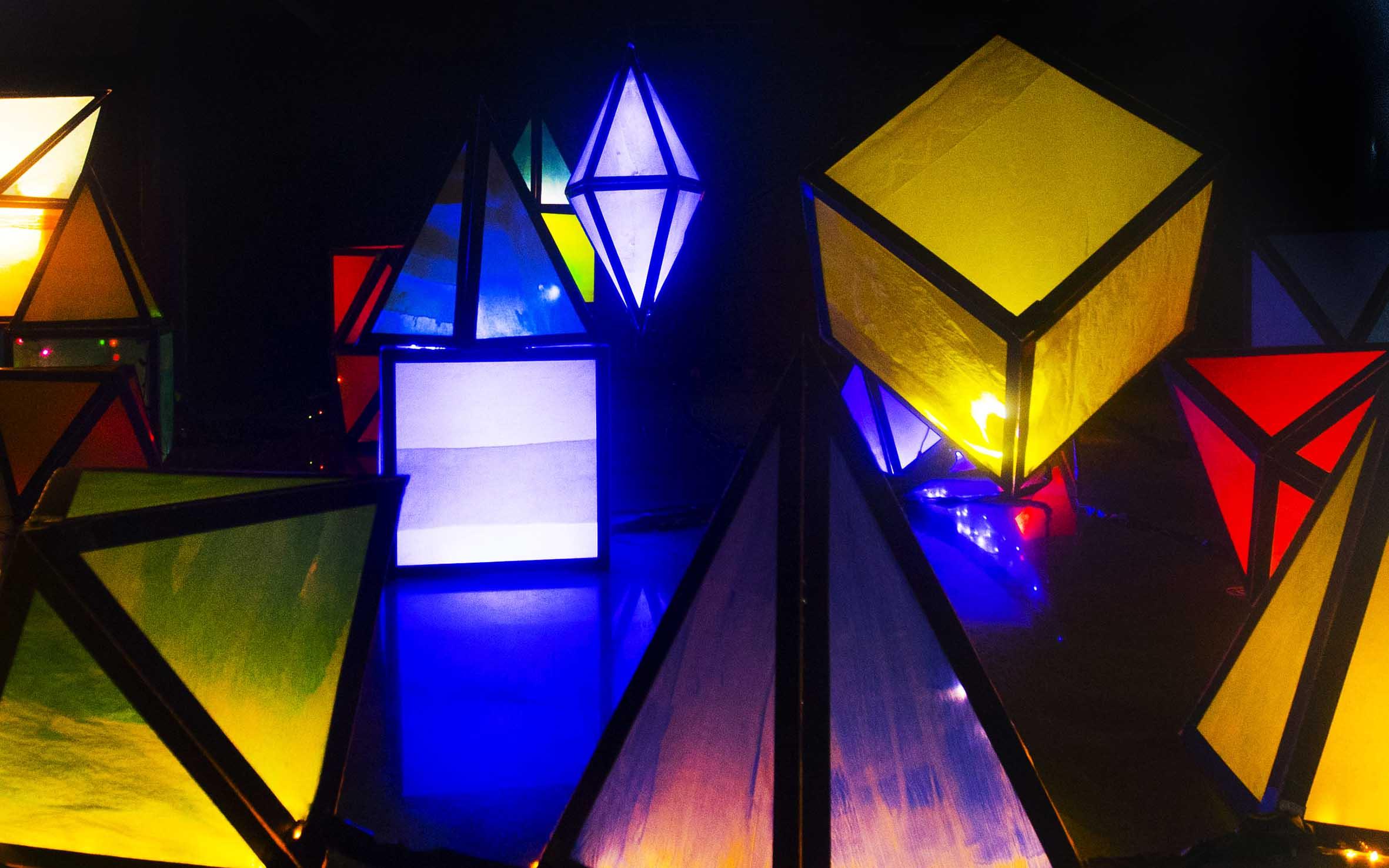'Light sculptures